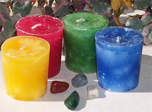 Raven Moonlight Elemental Votive Candle Set