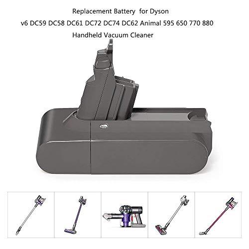 LiBatter Battery For DC58 DC62 V6 965874-02 Animal