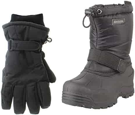 Northside Frosty Snow Boots, With Matching Waterproof Gloves (Toddler, Kids, Youth)