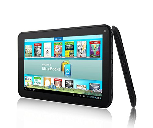 Azpen A746 7 inch Quad core 8GB Android Tablet with Case Bundle by Azpen