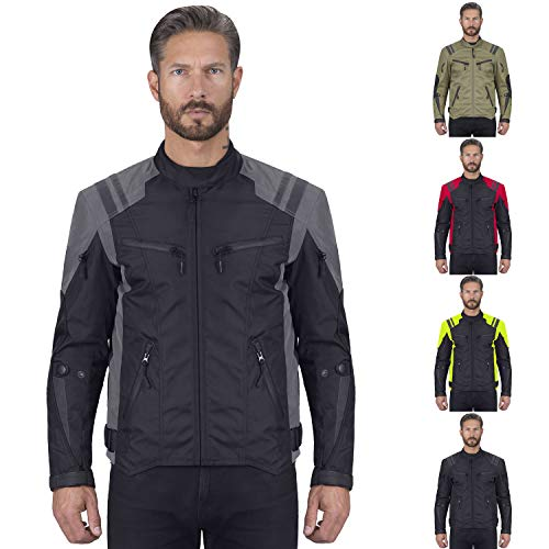 - Viking Cycle Ironborn Motorcycle Textile Jacket For Men