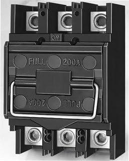 SCHNEIDER ELECTRIC FTL3200 - Caja de fusibles de extracción de 120/240 V, 200 A, 3 puntos: Amazon.es: Bricolaje y herramientas