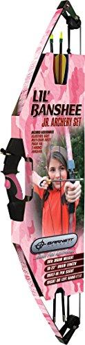 Lil Banshee Barnett Compound (Barnett Lil Banshee Jr. Pink Archery Set by Barnett Crossbows)