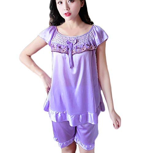 (Women's Sexy Lace V-Neck Nightdress Lingerie Sleepwear Sexy Pajamas)
