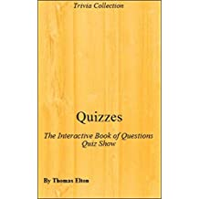 Quizzes: The Interactive Book of Questions Quiz Show - Accessories, Travel Games, Self Help, Self Help Books, Consumers, Kids