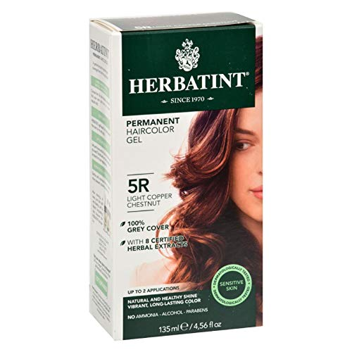HERBAVITA Henna Light Copper Chestnut 5R, 4 OZ