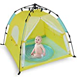 Bend River Automatic Instant Baby Tent with Pool, UPF 50+ Beach Sun Shelter
