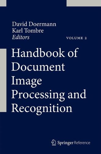Handbook of Document Image Processing and Recognition by Springer