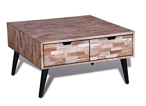 coffee table with 4 drawers reclaimed teak wood secure drawers home unique furniture 283 x - Teak Wood Coffee Tables