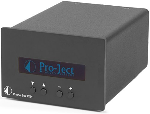 Pro-Ject Phono Box DS Plus Component Phonograph Preamplifier, Black by Pro-Ject
