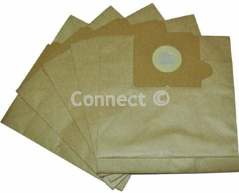 Vacuum Bags to fit Electrolux Samba Z5001 E53 Type 5 Pack
