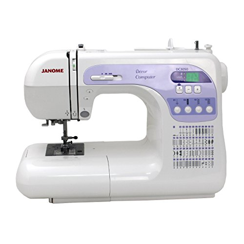 Janome DC3050 Computerized Sewing Machine with Exclusive Bonus Bundle by -- Janome --