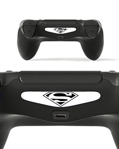 Gizmoz n Gadgetz 2X LED Hero Light Bar Decal Sticker for Playstation 4 / Slim/Pro PS4 Controller DualShock 4 (Injustice Gods Among Us Ultimate Edition Skins)