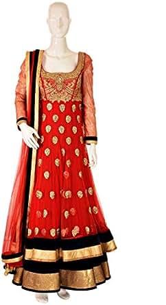 Sanskriti Multi Color Festive Anarkali Set For Women