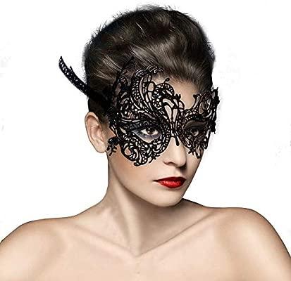 NaiCasy Las Mujeres Atan la máscara de la máscara de Venecia Traje Atractivo Mascara de Carnaval, joyería de la Novedad Carnaval de Venecia Phoenix