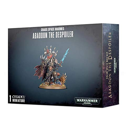 Games Workshop Warhammer 40K: Chaos Space Marines - Abaddon The Despoiler