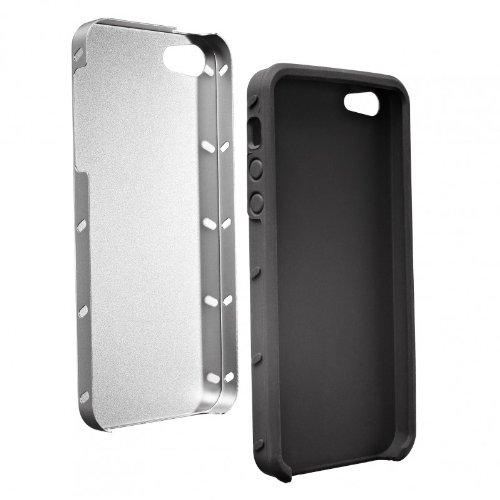 Artwizz 0813-SJA-P5-SL SeeJacket Silikon schützender (geeignet für Apple iPhone SE und iPhone 5/5S) silber
