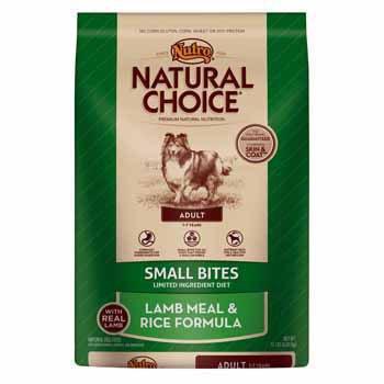 Nutro Natural Choice Lamb Meal and Rice Formula Small Bites Dog Food, 15 lbs., My Pet Supplies