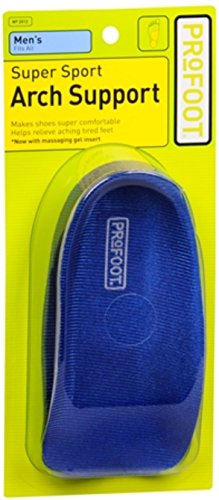 ProFoot Super Sport Arch Support Men's 1 Pair (Pack of 3)