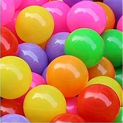 Kekailu Ocean Balls,50 Pcs Baby Colorful Soft Plastic Water Pool Ocean Wave Ball Outdoor Funny Toys,4 cm: Home & Kitchen