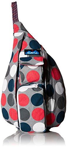 (KAVU Mini Rope Bag, Got Dots, One Size)