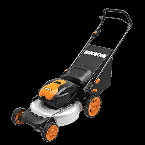 WORX WG751 40V 19'' Cordless Lawn Mower, 2 Batteries and Charger Included -  Positec