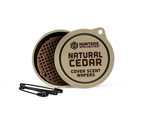 Hunters Specialties LUR3348609 Hunter's Natural Cedar Cover Scent Wafers (3 Pack) ()