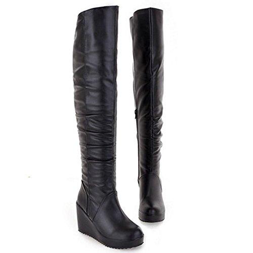Razamaza Women Zipper Black Zipper Black Boots Women Boots Boots Razamaza Zipper Women Razamaza Black ZH0pgq