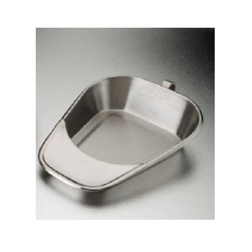 DUKAL 4229 Tech-Med Fracture Bedpan, Stainless Steel by Dukal (Image #1)
