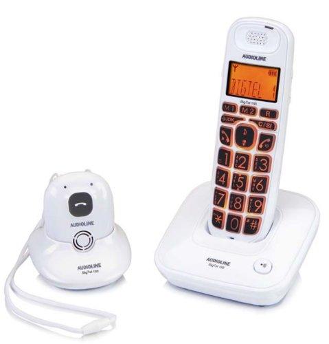 AUDIOLINE Big Tel 165 Button Set mit Freisprechanh