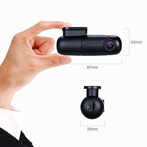 blueskysea b1w wifi mini dash cam car camera vehicle video driving recorder 360 degree rotatable. Black Bedroom Furniture Sets. Home Design Ideas