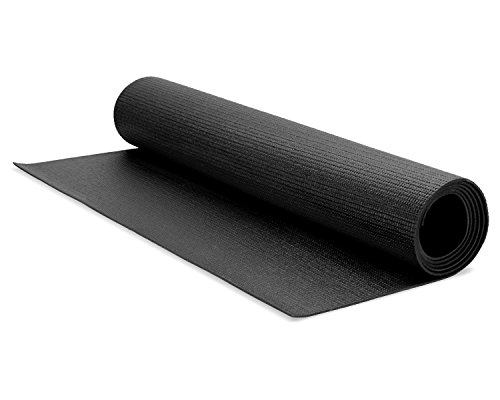Yes4All BLACK PVC Yoga Mat 3/16