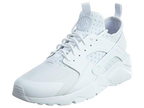 101 Air - NIKE Mens Huarache Run Ultra Running Shoes White/White 819685-101 Size 8