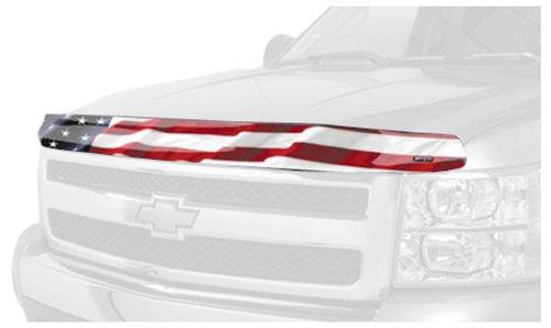 Stampede 2321-41 Vigilante Premium Series Hood Protector with 'American Flag No Eagle' Pattern