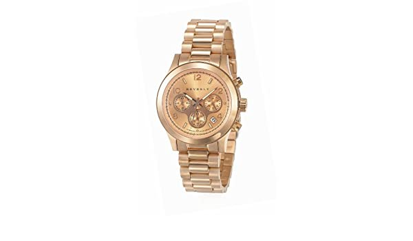 Amazon.com: Champs & Co. Beverly Casa Blanca Womens DL9 3RG/RG5 Stainless Steel Rose Gold Watch: Watches