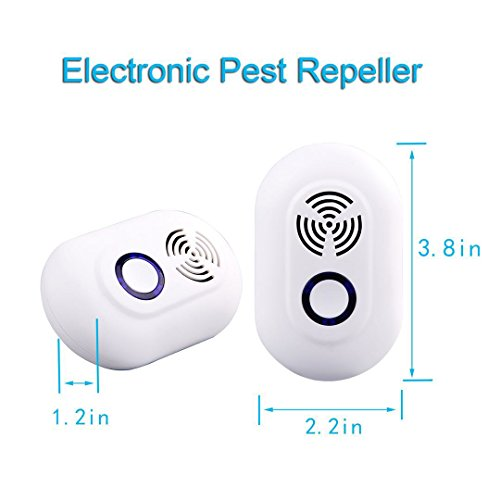 Electronic fly repeller