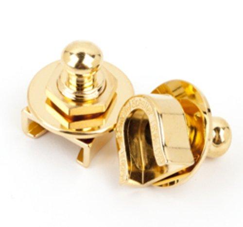 Fender Strap Locks for Electric Guitar, Gold