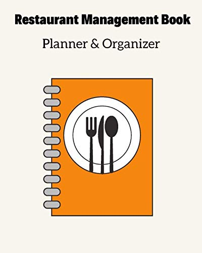 Restaurant Management Book Planner & Organizer (Table Danny Meyer Setting The)