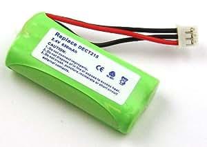 Batería compatible con Philips DECT 215 Trio, Kala 300, TU3351, TU3353, Xalio 300, Zenia 300