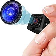 Minicámara espía 1080p, cámara oculta, portátil, HD, con visión nocturna y detección de movimiento, para inter