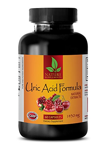 antioxidant Extreme - URIC Acid Formula - Natural EXTRACTS - Urinary Flush and Support with Cranberry - 1 Bottle (60 Capsules) by NATURE SUPPLEMENTS