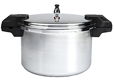 Mirro 92122A Polished Aluminum Dishwasher Safe Pressure Cooker Cookware, Silver by T-fal