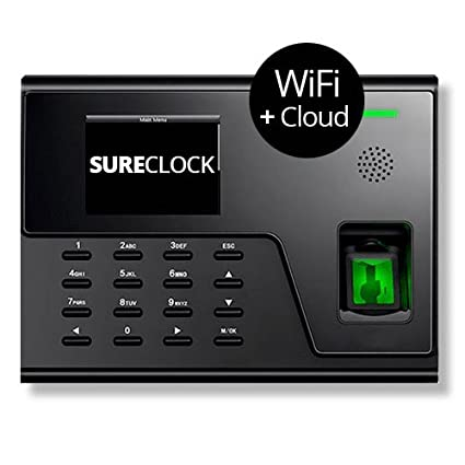 Amazon sureclock online time clock for small business model sureclock online time clock for small business model sc760 wifi lan and biometric fingeprirnt sensor colourmoves