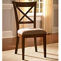 A-America Desoto X Back Side Chair - 2 Chairs, Burnished Sienna