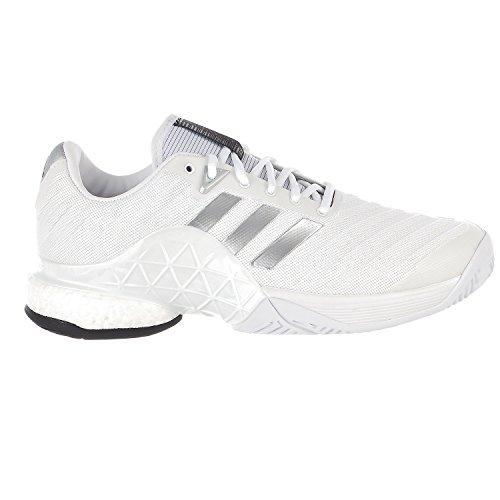 06f351c21245 adidas Barricade 2018 Boost Tennis Shoe - White Core Black White - Mens -  10 - Buy Online in UAE.