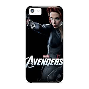 linJUN FENGThe Black Widow Case Compatible With ipod touch 5/ Hot Protection Case