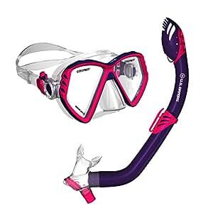 U.S. Divers 281035 Regal Jr Mask Laguna Snorkel Combo, Blue