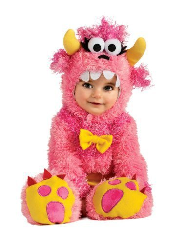 Noah's Ark Pinky Winky Monster Romper Costume WB (6-12 months with Bracelet for Mom) by In Fashion Kids