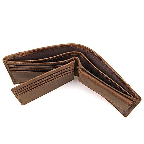 Wybxa Portefeuille Couture Multi couches Des Black Pack Court Nouvelle De Rétro Porte Conception Cartes Multi monnaie fonctions Et Simple Femmes Hommes z6qzrxp7w