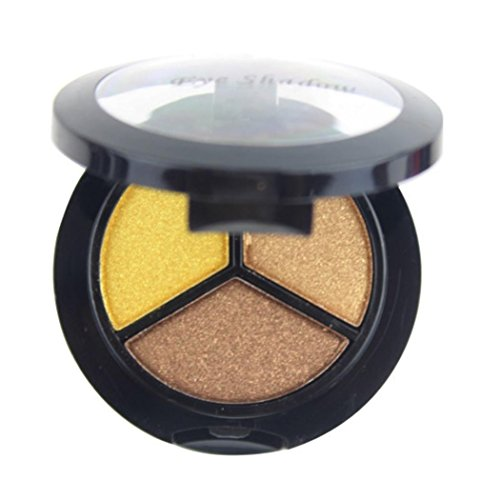3 Colors Eyeshadow Textured Pallete, Faced Matte Pearl Makeup Eye shadow